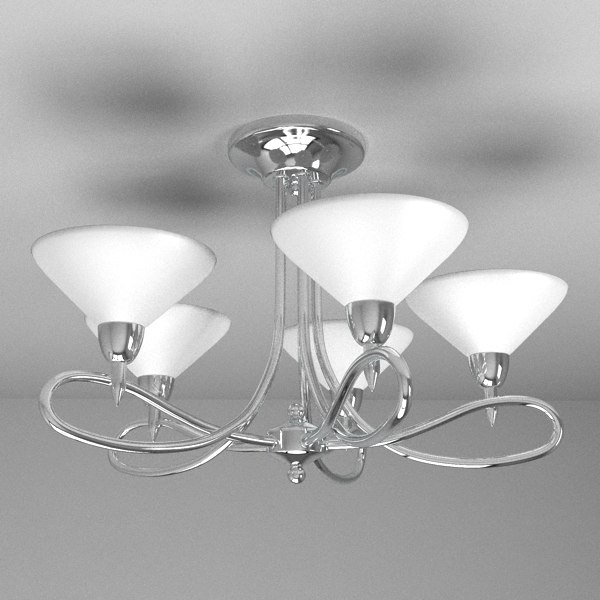 lamp ceiling light 3d model