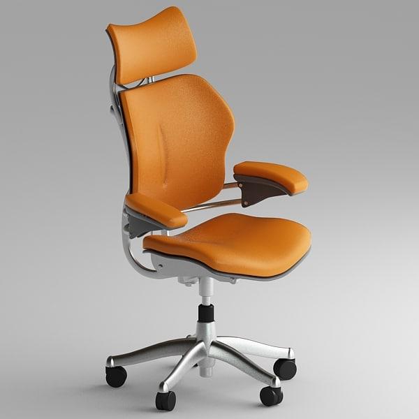 3dsmax human freedom chair - Freedom Chair