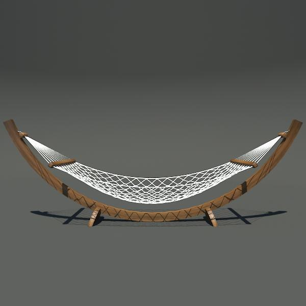 hammock furniture 3d max