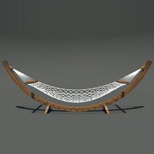 hammock furniture 3d max