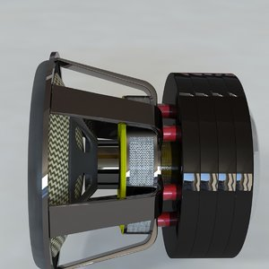 3ds max 18 sub woofer