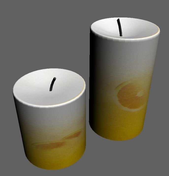 3ds max candles
