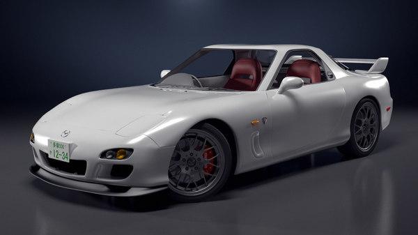 mazda spirit r 3d model