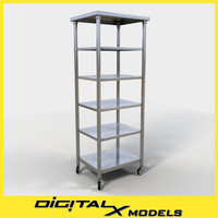 commercial mobile cart 3ds