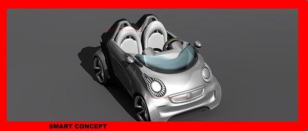 smart concept drive 3d model