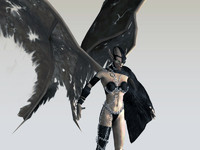 Game Character / Animation Figure ' Succubus Gate Keeper '