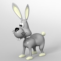 rabbit toon 3d 3ds