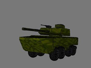 infantry fighting vehicle 3d 3ds