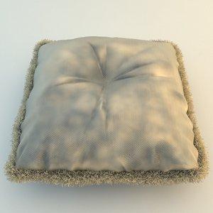 maya pillow details materials