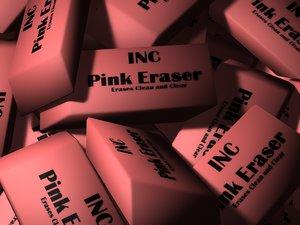 eraser gold obj free