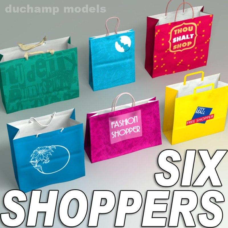 3d paper bags