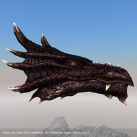 black dragon head max