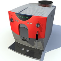 bosch coffee machine 3d obj