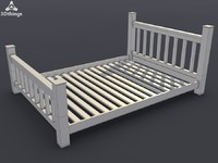 Alisa Large Double Bedframe