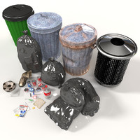Rubbish Bin Kit With Refuse