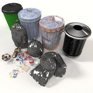 3d kit bins rubbish