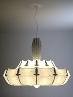3ds wanders zeppelin suspension lamp