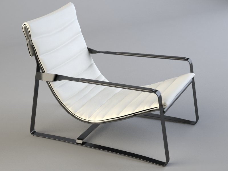 hopper armchair 3d 3ds