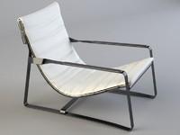 Hopper armchair