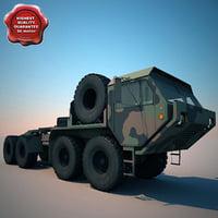 military truck m985e1 3d model