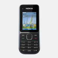 3d model nokia c2-01 mobile phone