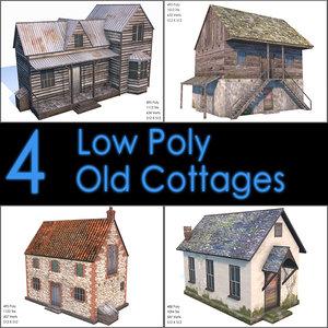 3d cottage old model