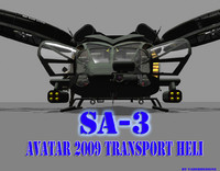 AVATAR 2009 TransportHeli SA-3 Samson PACK