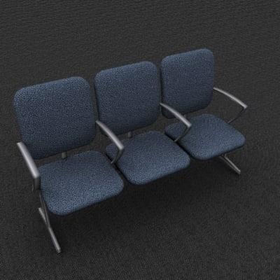 triple office chair max