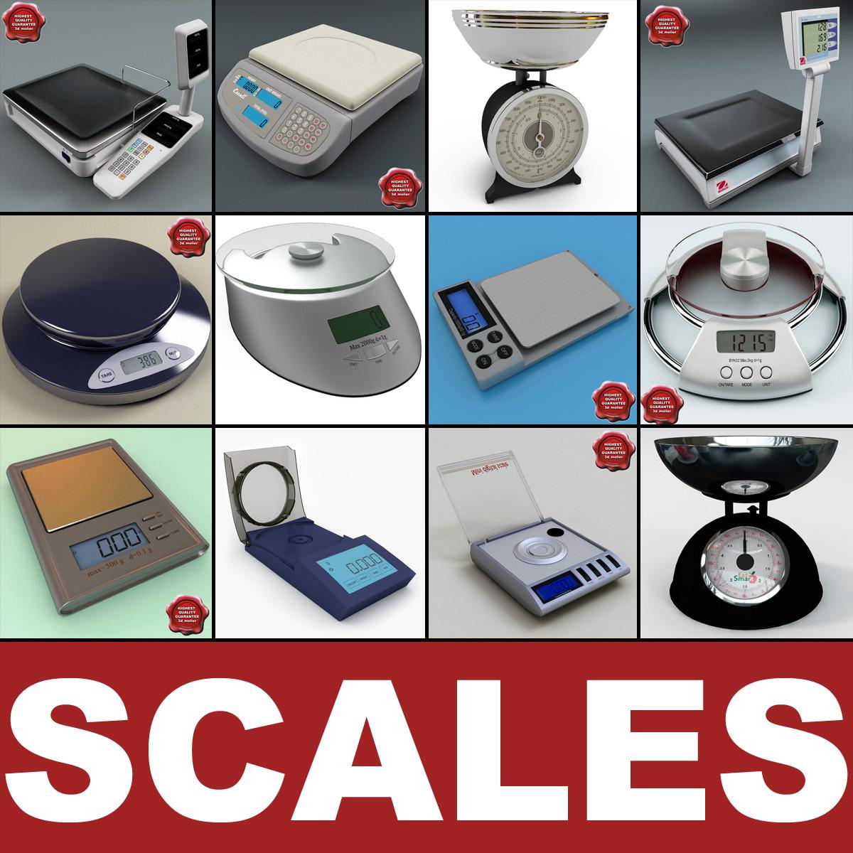 scales big v2 3d model