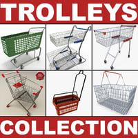 3dsmax supermarket trolleys v2