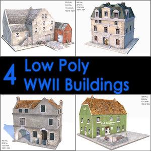 world war ii buildings max