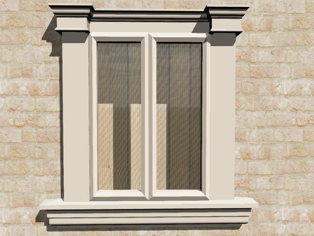 maya exterior window