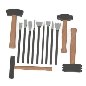 3d chisels hammers