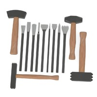 stone tools and hammers