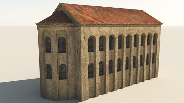3d aula basilica constantine palatina