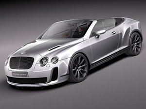 bentley continental supersports super sport 3d model