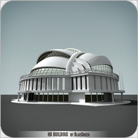 3d model of definition building