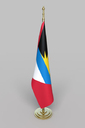 Antiqua and Barbuda Flag 3D models