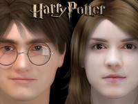 max harry potter hermione