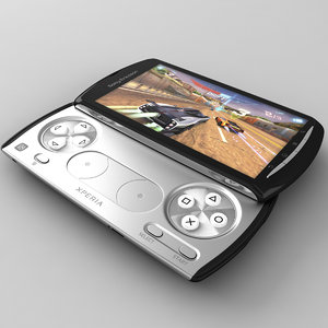 sony ericsson xperia play 3d model