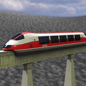 3ds monorail nomad