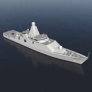 3d holland class offshore patrol model