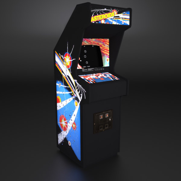 1979 arcade cabinet 3d 3ds