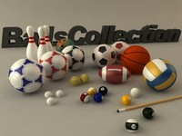 basketball billiard balls 3d max