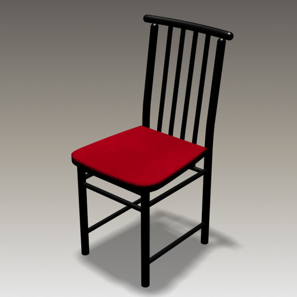 3d chair dining room