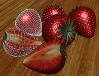 obj strawberrys