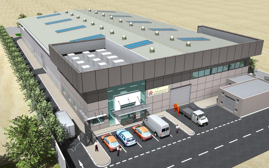 3d model aluminum factory building