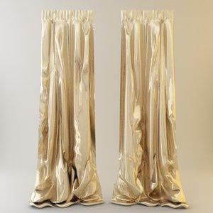 curtains 3d 3ds