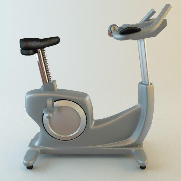 3dsmax exercise bike