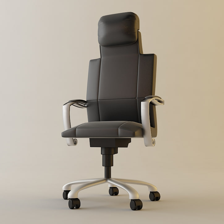 office armchair 3d max